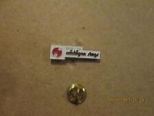 WHA Michigan Stags Vintage Defunct Circa 1974-75 Logo Hockey Lapel Pin