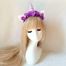 Unicorn Horn Horse Headband, pony headband, forest themed coordinates Headband
