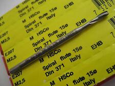 M2.5 x 0.45 SPIRAL FLUTE HSCo MACHINE TAP DORMER E207  NEW & BOXED  #C58