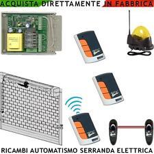 Elettronica Ricambio Serranda Centralina Tre Radicom. Fotocellula Lampeg Antenna