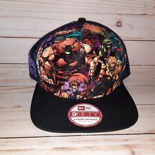 Marvel New Era 9Fifty Brotherhood Evil Mutants Adjustable M-L Snapback Hat Cap