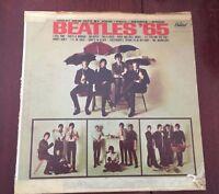 THE  BEATLES  BEATLES '65 CAPITOL RECORDS #T2228 MONO VTG VINYL LOOK!!