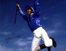 FRANKIE DETTORI Signed Autographed HORSE JOCKEY Photo