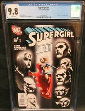 Supergirl #4 (2006) Lex Luthor JLA CGC 9.8 White Pages B903