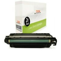2x Cartridge Black For Canon I-Sensys LBP-7780-cx LBP-7780-cdn
