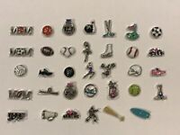 **RARE/RETIRED** Origami Owl Custom Jewelry **Sports Charms**