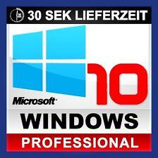 Win 10 Pro (Windows 10 Professional) 32/64 Bits Product Key Lizenzschlüssel