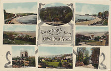 Greetings from GRANGE-OVER-SANDS Cumbria England UK 1912 F. Frith Multiview PC