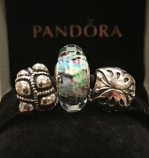 59b1c1116 ... discount authentic pandora charms lot butterfly journey tropical sea  murano glass bead 7ebc4 3efd7 ...