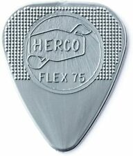 Silver Heavy Nylon Flat Pick