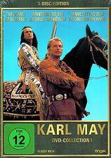 DVD-BOX NEU/OVP - Karl May - DVD-Collection 1 - Der Schatz im Silbersee u.a.