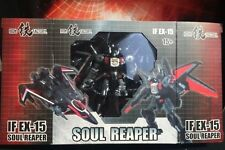 New Iron Factory Transformers IF EX15 Soul Reaper Black Shadow Figure In Stock