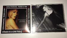 MARIAH CAREY PROMO LOT BUTTERFLY MY ALL THE ROOF SEALED!