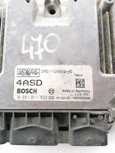 FORD C MAX  ENGINE CONTROL UNIT ECU 3M51-12A650-HD