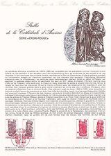 Document Philatélique Timbre  1er Jour : 06/12/ 1980 - Croix-Rouge Cathédrale