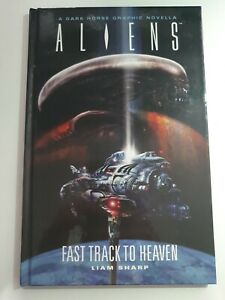 Liam Sharp - Aliens: Fast Track to Heaven Graphic Novella Hardcover
