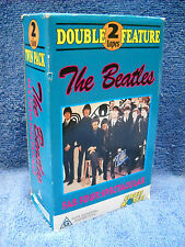 **THE BEATLES DOUBLE FEATURE YESTERDAY & ALONE & TOGETHER ON VHS VIDEO TAPE**