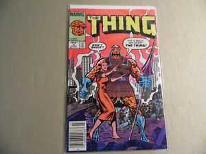 The Thing #9 (Marvel 1984) Newsstand Variant / Free Domestic Shipping