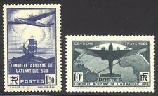 France #C16-17 Mint Nh - 1936 South Atlantic Set