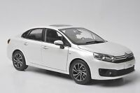 Citroen C4 2016 car model in scale 1:18 white