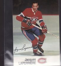 1988-89 ESSO HOCKEY JACQUES LAPERRIERE CANADIENS NMMT/MINT *56245