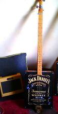 IJack Daniels 3 string cigar box guitar ( Homemade)