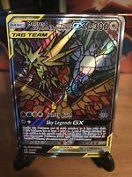 FULL ART Moltres Zapdos Articuno GX SM210 Hidden Fates Pokemon Promo Mint