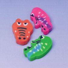 144 Crocodile Erasers Wholesale Party Favors