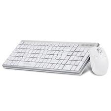 Tastatur + Maus-Set, 2,4 G Funk, Wireless Kabellos For PC Smart TV Android Mac