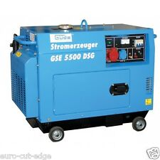 Güde GSE 5500 DSG Diesel Generator GERMAN HIGH END BRAND - 2 Year UK Warranty