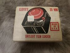 Llyod's 35mm Daylight Film Loader With Box