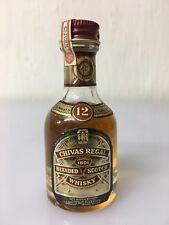 Mignon Miniature Chivas Regal 12yo Scotch Whisky 28cc 43% Vintage