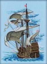 RTO Cross Stitch Kit Spanish Galleon 28x38 cm ARTM099! FREE SHIPPING!!