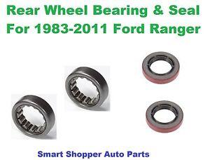 "Rear Wheel Bearing and Seal For 1983-2011 Ford Ranger 7.5"" Ring Gear 28 Spline"