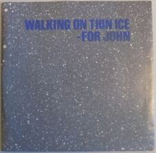 "Yoko Ono - Walking On Thin Ice - 7"" Single - 1981 - Picture Sleeve + Insert- NEW"