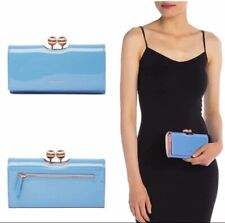 New Ted Baker London Bobble Patent Leather Wallet