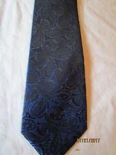 Versa Blue Paisley Silk Neck Tie