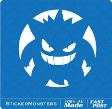 Pokemon Go Vinyl Decal Car Sticker 120mm Round Pikachu Charmander Squirtle MBP