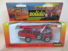 SOLIDO 3102 GRUE RICHIER FIRE ENGINE 'CRANE'. EXCELLENT PLUS/BOXED 'TONER GAM'