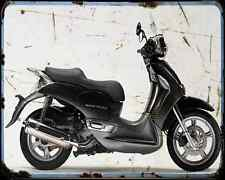 Aprilia Scarabeo 500 06 A4 Metal Sign Motorbike Vintage Aged