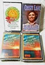 NEW 4 Inspirational Cassette Tape How Great Thou Art/Christy Lane/MormonTabChoir