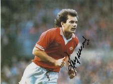 England Football Legend RAY WILKINS Signed Manchester United Photo
