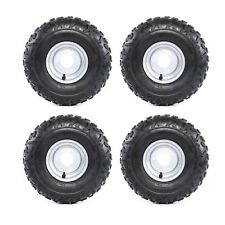 FOUR New Tires w/ Rims 145/70-6 Go-Kart, ATV, Lawn, mini bike Tires 145x70-6