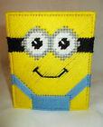 Despicable Me Minion #2 Tissue Topper/Box/Cover Plastic Canvas