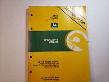 Oem John Deere 8850 Tractor Operators Manual Ser 006501 Amp Up