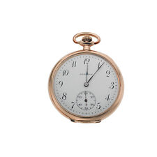 Antique Hamilton Pocket Watch 12S 23J Grade 920 S/N 1863364 Gold Filled Case