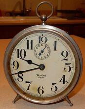 Vintage Westclox Big Ben Alarm Clock Untested