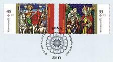 BRD 2011: weihnachtsmarken nr 2895+2896 con sólo bonn etiquetas sello especial 1a 1510