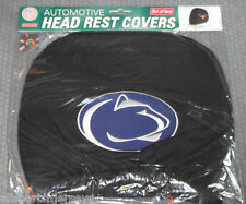 NCAA NWT HEAD REST COVERS -SET OF 2- PENN STATE