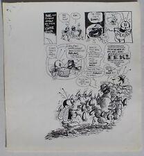 Original Dan O'Neill Art: Air Pirates Funnies #1, Bug